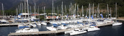 Sailing in Marmaris Turkey